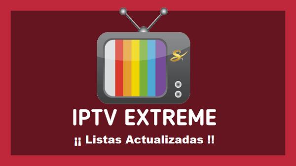 Listas de Canales IPTV EXTREME