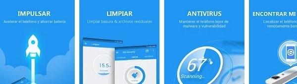 mejores antivirus para android gratis 360 security antivirus