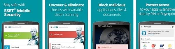 mejores antivirus para android gratis eset mobile security mobile security and antivirus