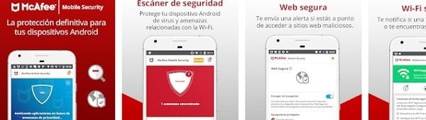mejores antivirus para android gratis kaspersky mcafee