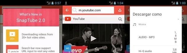 Mejores Aplicaciones Android para Descargar Música en MP3 Snaptube