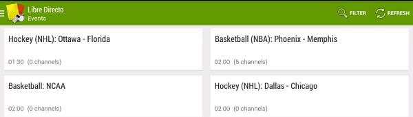 Mejores Aplicaciones para ver Fútbol ONLINE en móviles y Tablets Android Libre Directo GP