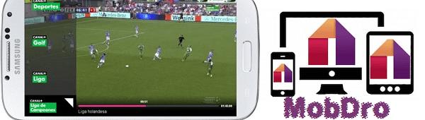 Mejores Aplicaciones para ver Fútbol ONLINE en móviles y Tablets Android Mobdro
