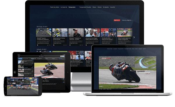 Páginas para ver MotoGP ONLINE en Directo