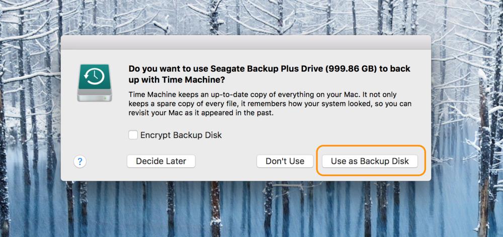 """<span href=""""https://9to5mac.com/2018/04/26/how-to-backup-mac-time-machine-any-hard-drive/"""">Cómo copia de seguridad de un Mac a la Máquina del Tiempo, con cualquier unidad de disco duro</a>"""