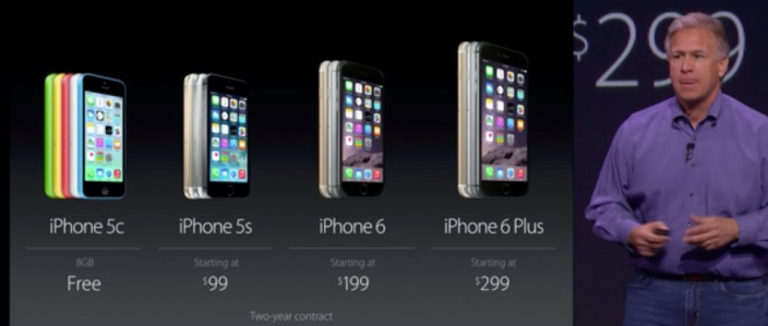 "<span href=""https://9to5mac.com/2014/09/09/iphone-6-starts-at-199-iphone-6-plus-at-299-preorder-sept-12-ships-sept-19/"">iPhone 6 starts at $199, iPhone 6 Plus at $299, preorder Sept. 12, ships Sept 19</a>"