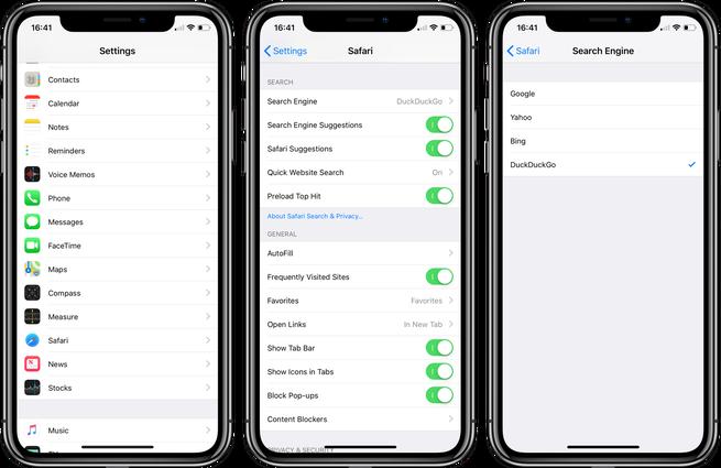 """<span href=""""https://9to5mac.com/2018/07/30/iphone-ipad-how-to-change-default-search-engine-in-safari/"""">iPhone & iPad: Cómo cambiar el motor de búsqueda predeterminado en Safari</a>"""