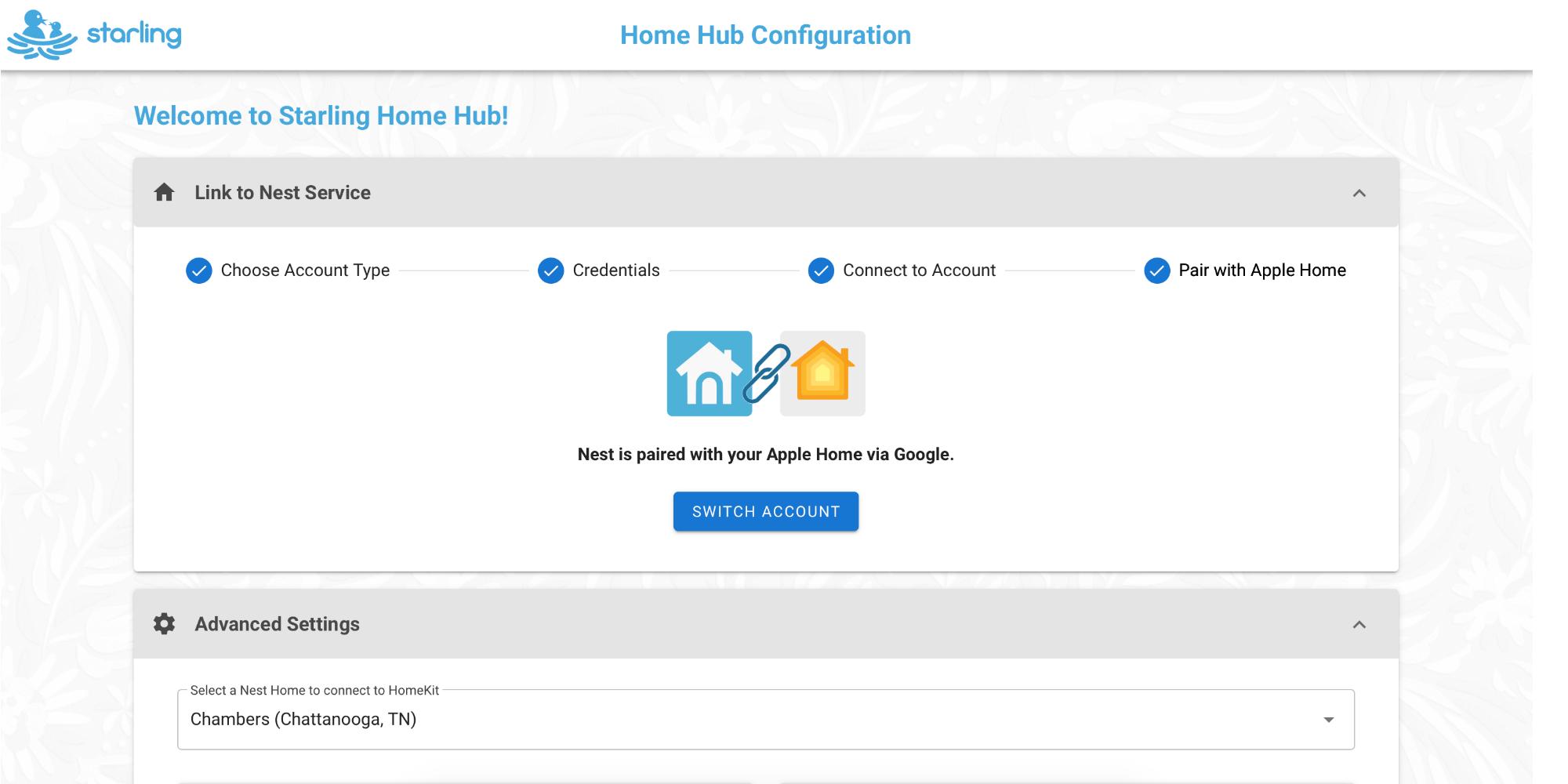 """<span href=""""https://9to5mac.com/2020/02/02/nest-homekit/"""">Reseña: Starling centro de origen es una solución llave en mano para agregar Nido de productos para HomeKit</a>"""