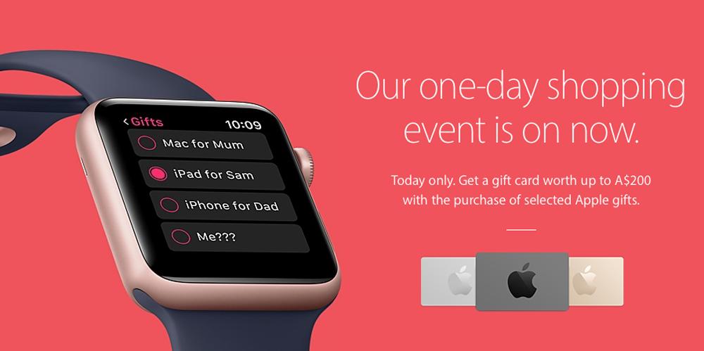 """<span href=""""https://9to5mac.com/2016/11/24/apple-store-black-friday/"""">Apple el viernes Negro ofertas son todas las tarjetas de regalo, no se aplican a los productos más recientes (hemos encontrado mejores ofertas de Apple!)</a>"""