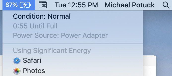 """<span href=""""https://9to5mac.com/2019/03/19/check-battery-health-macbook/"""">Cómo comprobar el estado de la batería de tu MacBook</a>"""