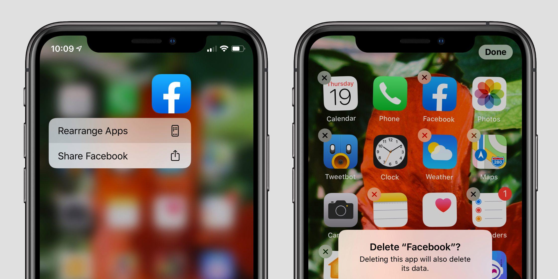 """<span href=""""https://9to5mac.com/2019/09/19/how-to-delete-apps-on-ios-13-for-iphone-and-ipad/"""">Cómo eliminar aplicaciones en iOS 13 para el iPhone y el iPad</a>"""