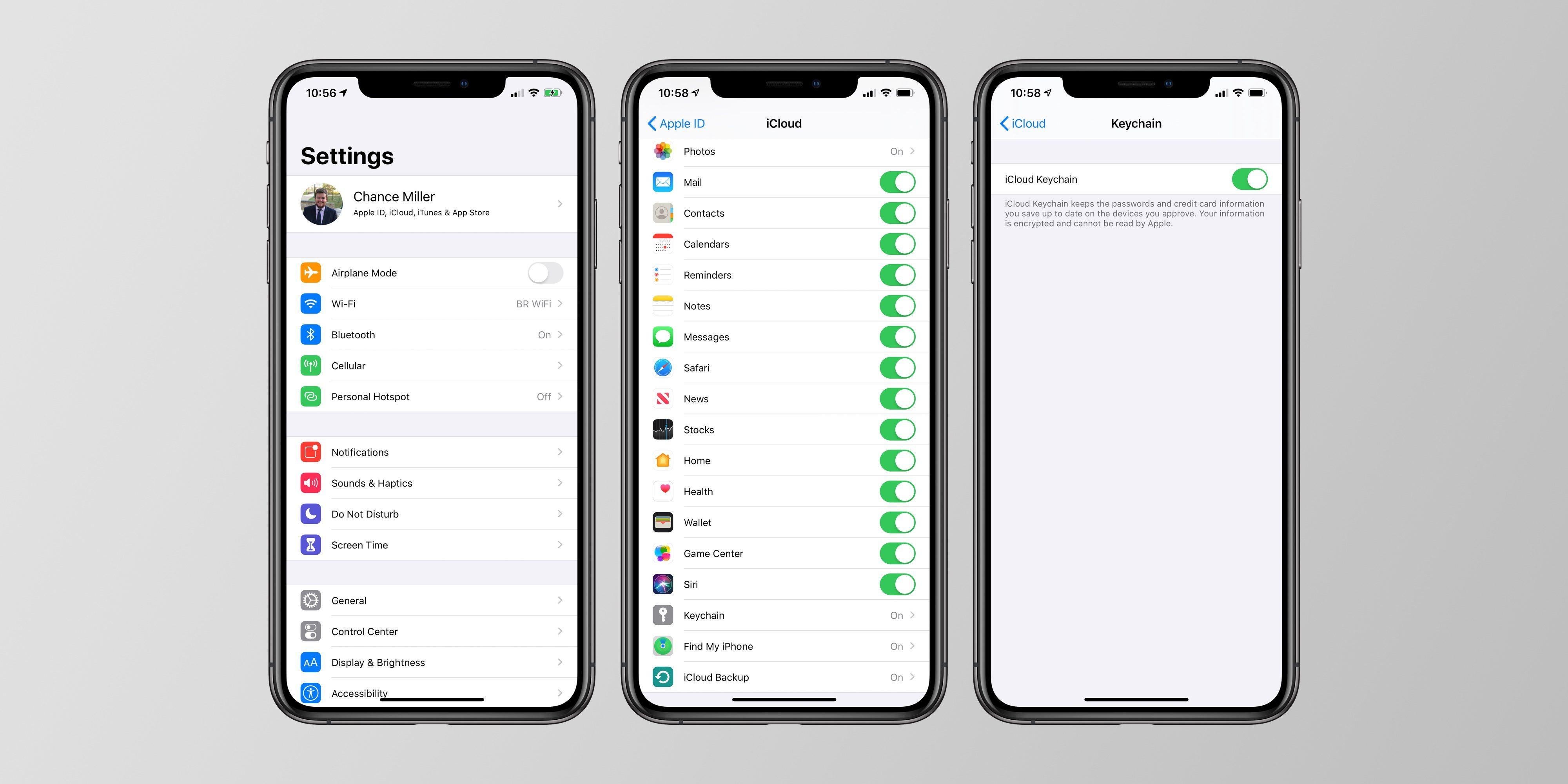 "<span href=""https://9to5mac.com/2019/09/29/how-to-use-icloud-keychain-passwords/"">Cómo usar iCloud Keychain para administrar y almacenar sus contraseñas</a>"