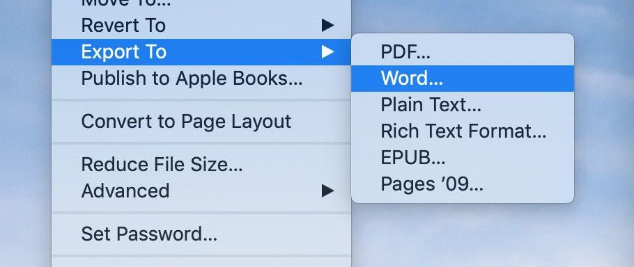 "<span href=""https://9to5mac.com/2019/03/08/convert-pages-microsoft-word-doc-mac/"">¿Cómo convertir Páginas doc doc de Microsoft Word en Mac</a>"