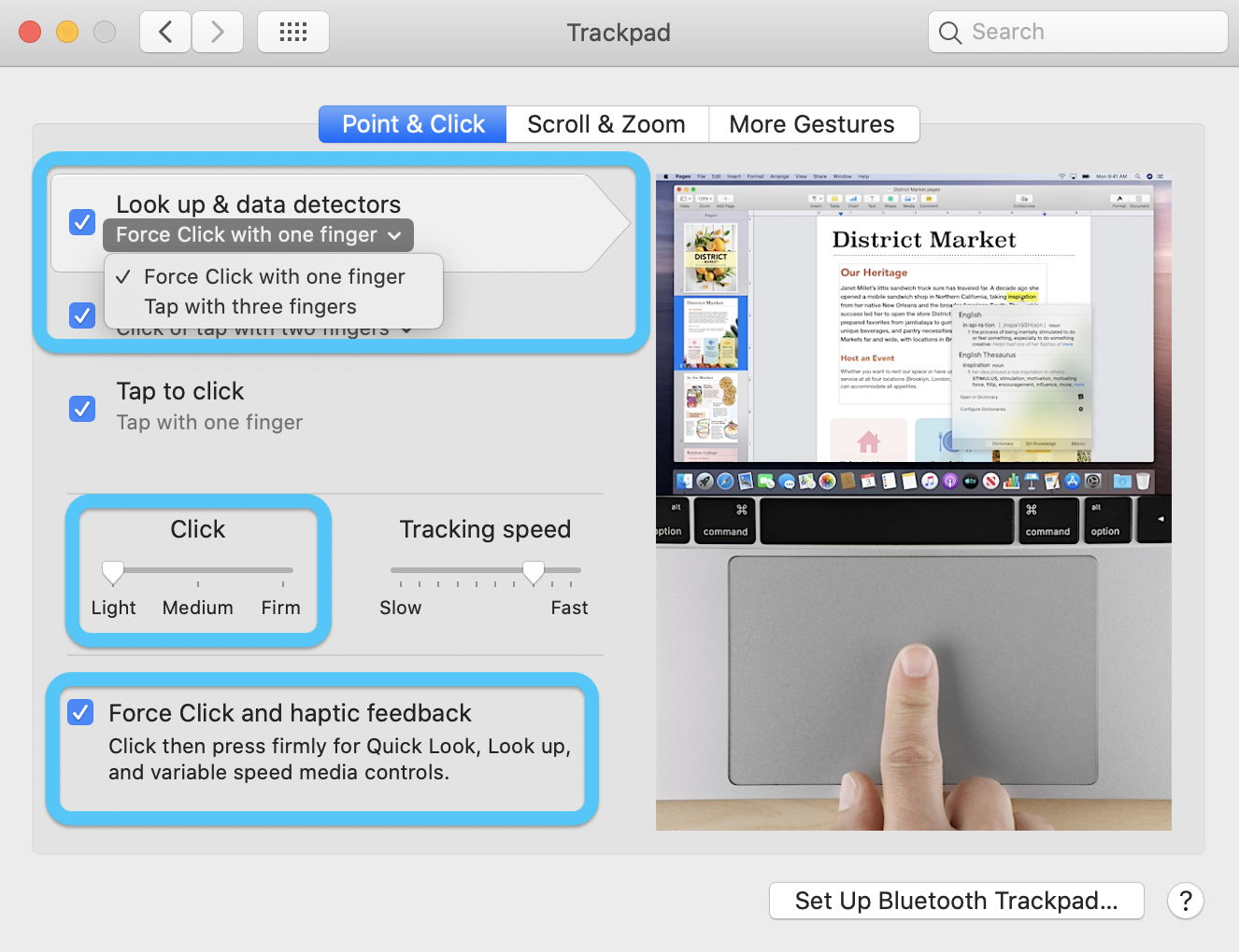 """<span href=""""https://9to5mac.com/2020/03/05/mac-macbook-what-can-force-touch-trackpad-do/"""">Nuevo para Force Touch trackpad? Aquí es lo que tu Mac puede hacer</a>"""