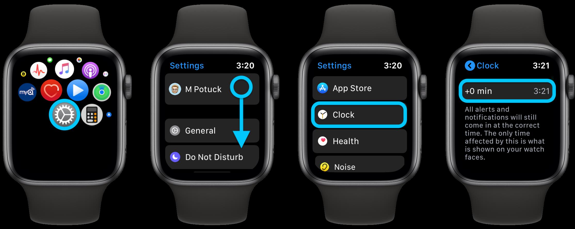 """<span href=""""https://9to5mac.com/2020/01/10/how-to-manually-adjust-apple-watch-time/"""">Cómo ajustar manualmente el tiempo de su Apple Watch</a>"""