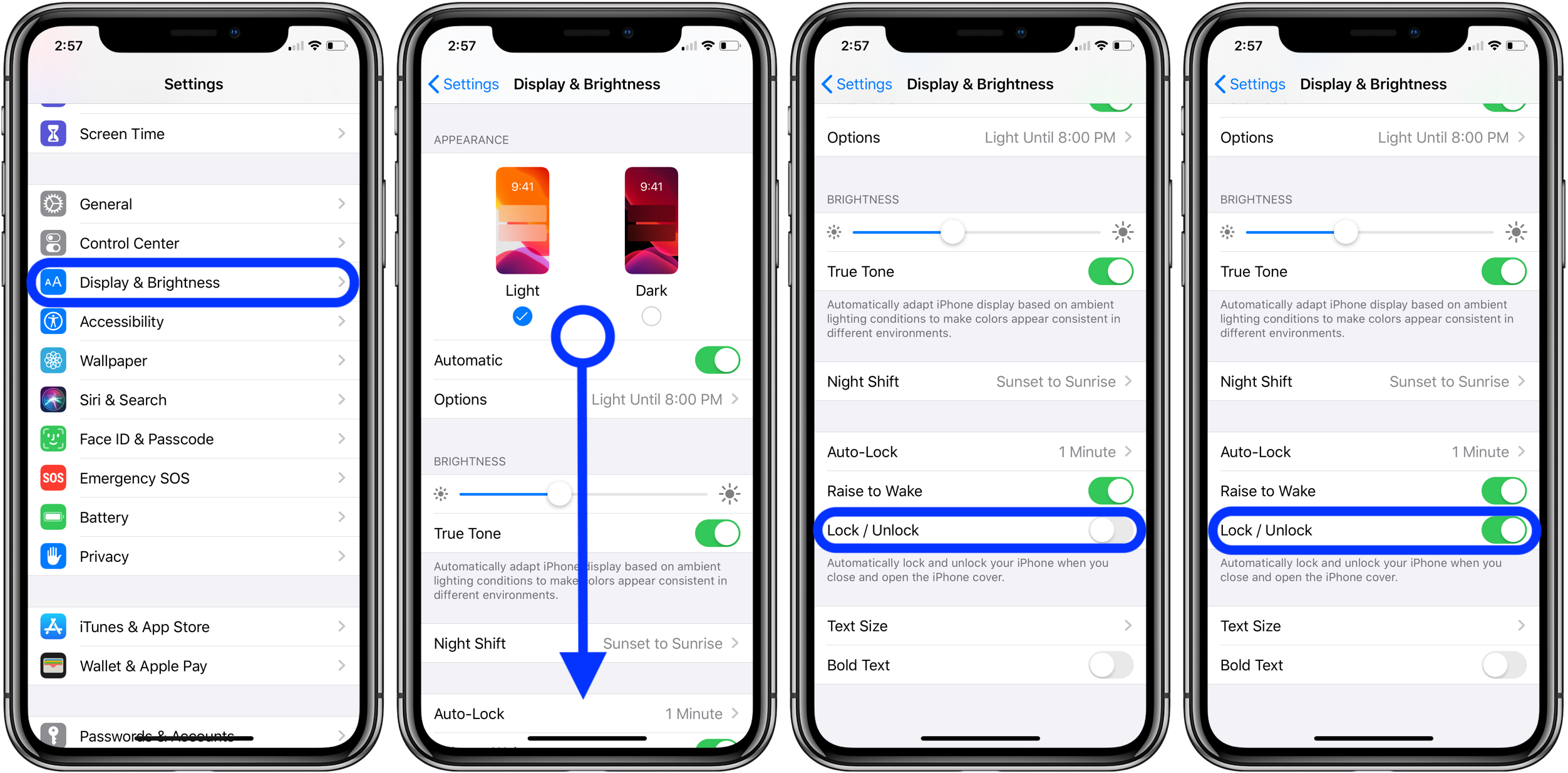 """<span href=""""https://9to5mac.com/2019/07/11/auto-lock-unlock-iphone/"""">¿Cómo utilizar el auto bloquear y desbloquear el iPhone con la funda folio de los casos</a>"""