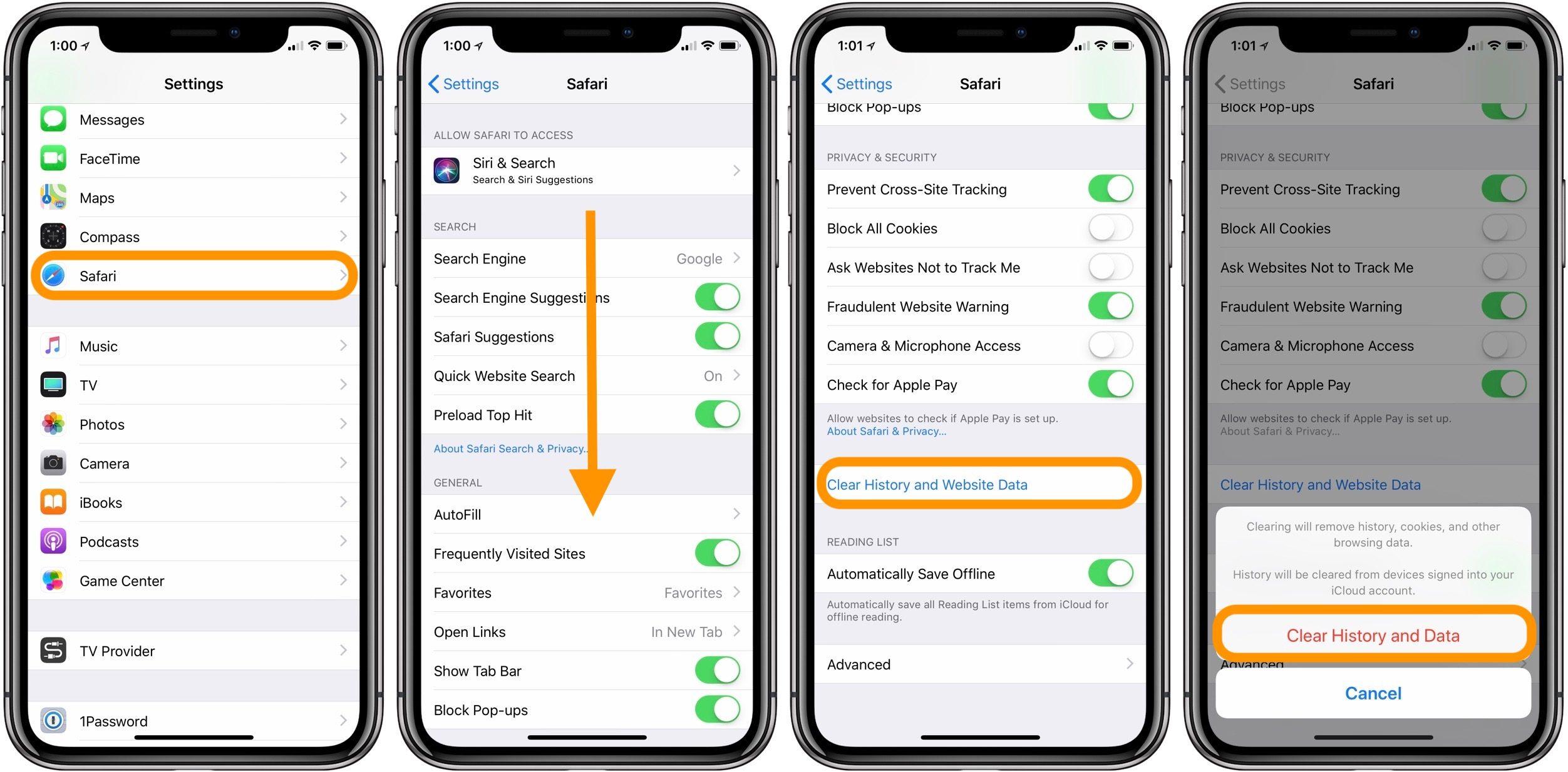 "<span href=""https://9to5mac.com/2018/05/24/iphone-ipad-how-to-clear-cache/"">iPhone & iPad: Cómo borrar la caché</a>"