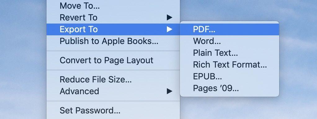 "<span href=""https://9to5mac.com/2019/03/11/convert-pages-doc-pdf-mac/"">Cómo convertir las Páginas de doc a PDF en Mac</a>"