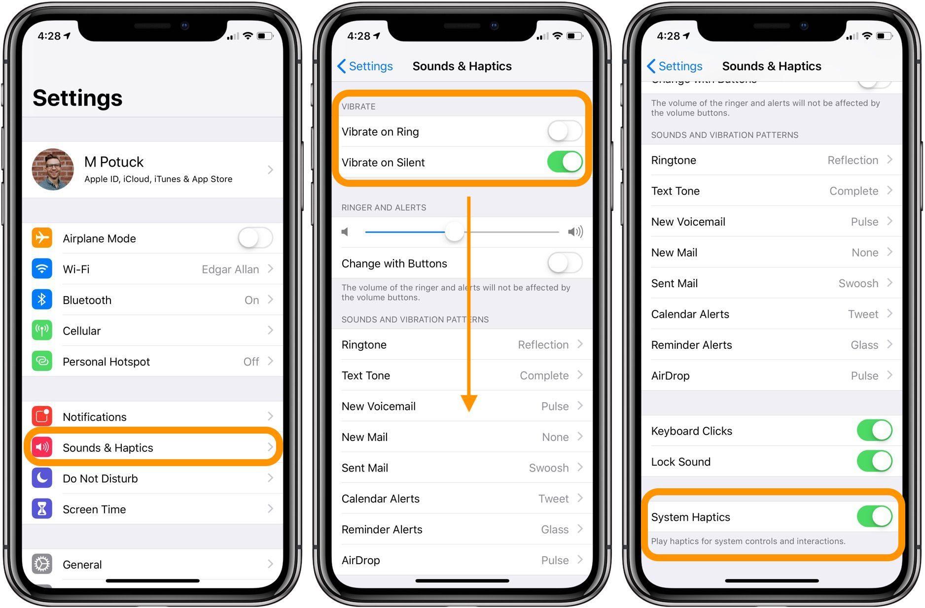 """<span href=""""https://9to5mac.com/2018/08/02/iphone-how-to-customize-vibration-haptic-feedback/"""">iPhone: Cómo personalizar el sistema de vibraciones y respuesta táctil</a>"""