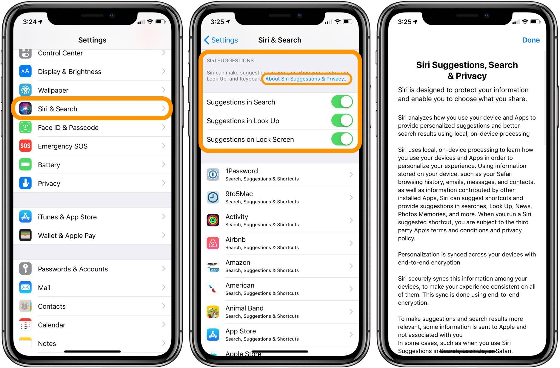 "<span href=""https://9to5mac.com/2018/08/13/iphone-ipad-how-to-customize-siri-suggestions/"">iPhone & iPad: Cómo personalizar Siri sugerencias</a>"