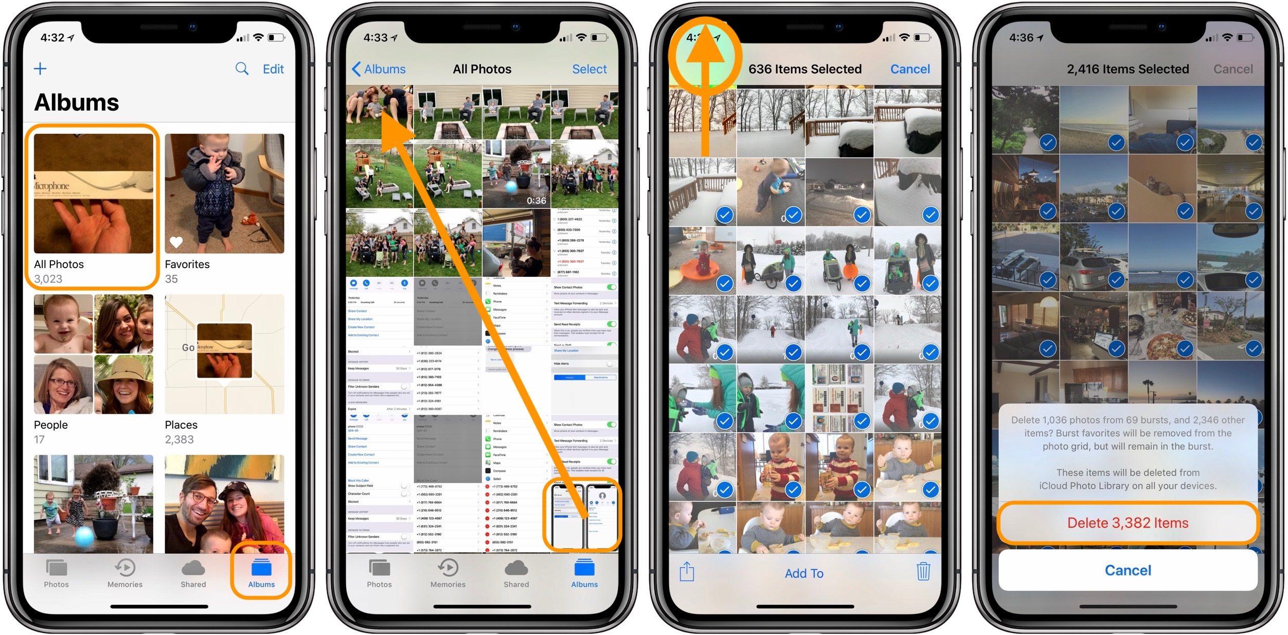 "<span href=""https://9to5mac.com/2018/05/09/iphone-how-to-delete-all-photos/"">iPhone: Cómo borrar todas las fotos</a>"