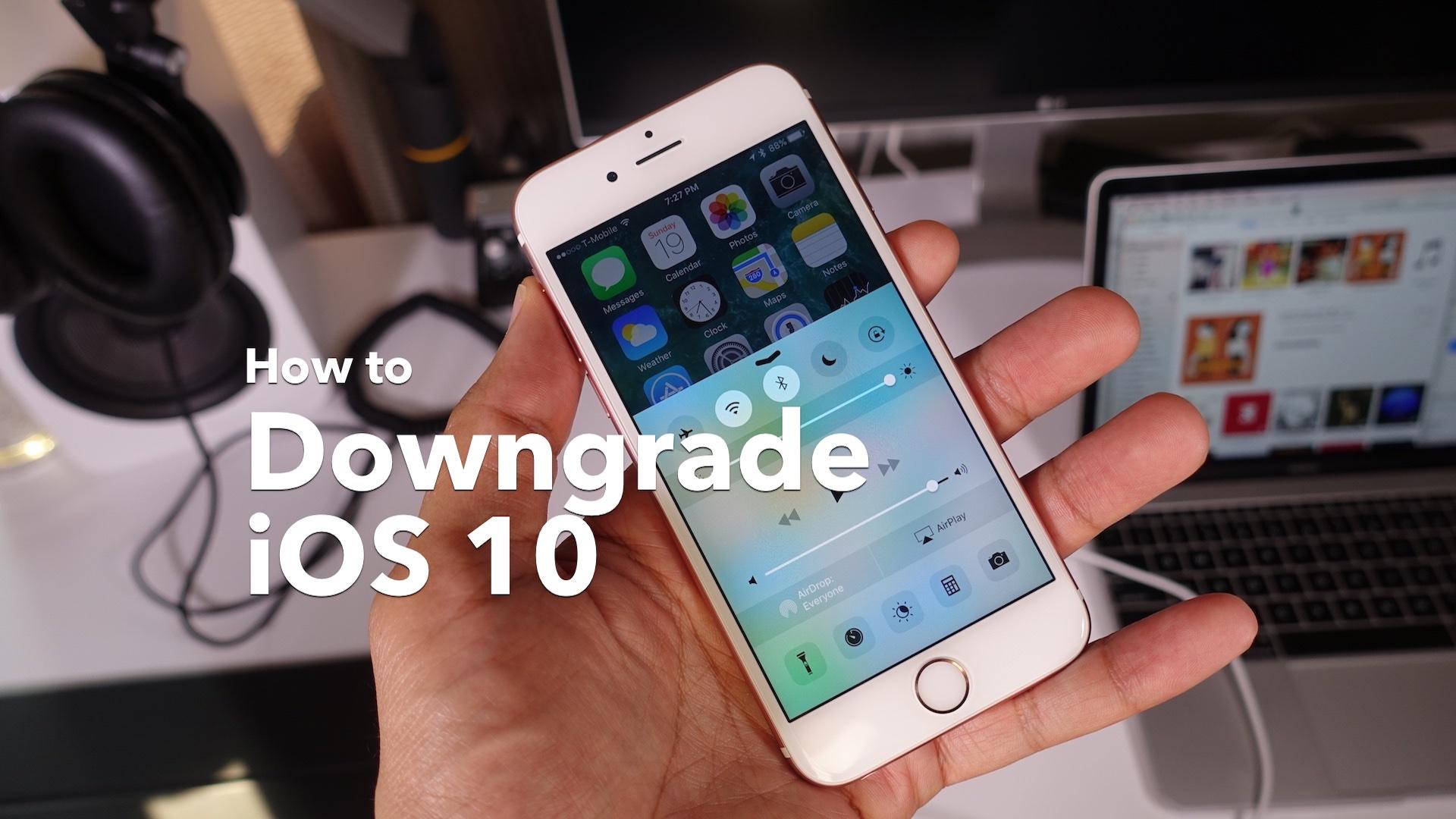 """<span href=""""https://9to5mac.com/2016/07/02/how-to-downgrade-from-ios/"""">Considerar una versión de iOS 10 downgrade? Aquí están algunas cosas a tener en cuenta</a>"""