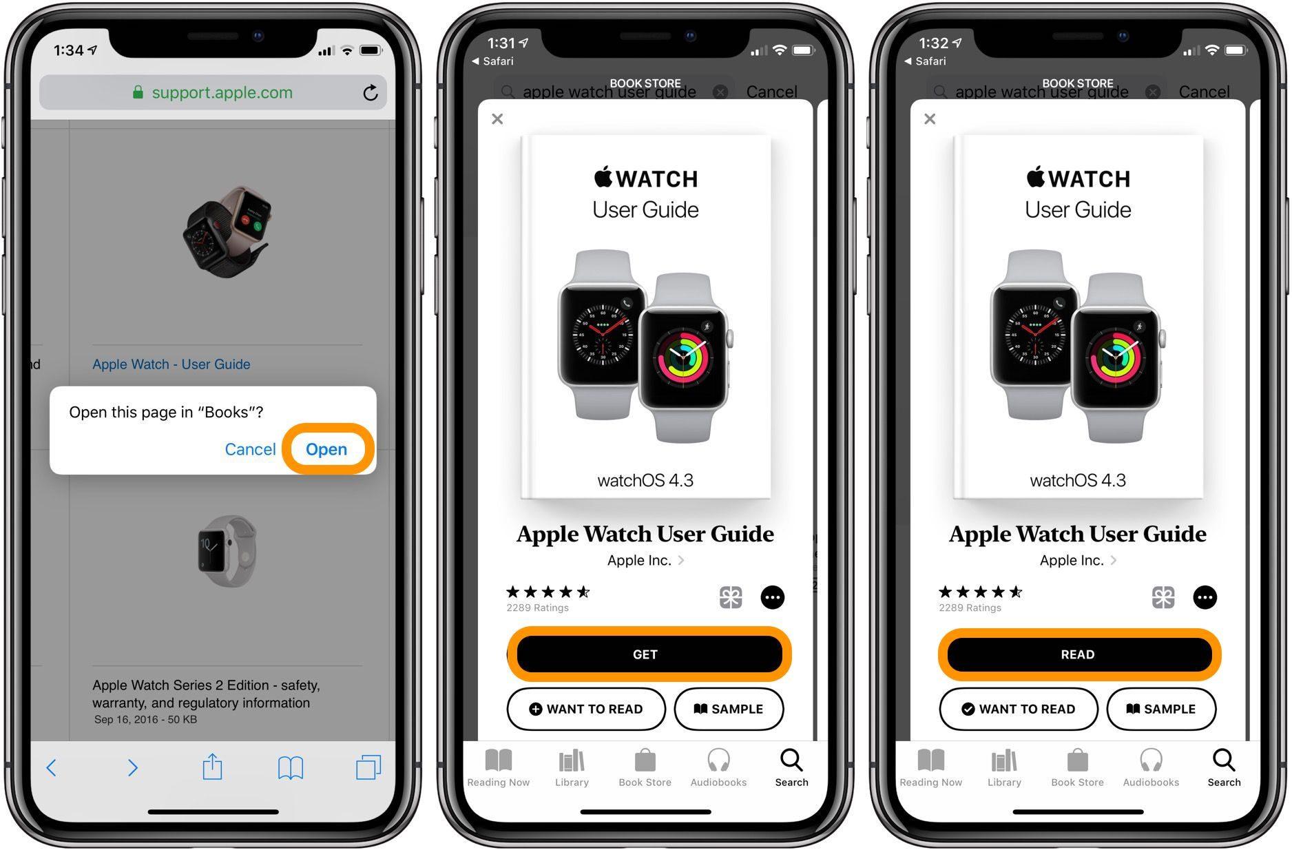 """<span href=""""https://9to5mac.com/2018/07/26/apple-watch-how-to-get-official-apple-user-guide-free/"""">Apple Watch: Cómo obtener el oficial de Apple guía del usuario gratis</a>"""