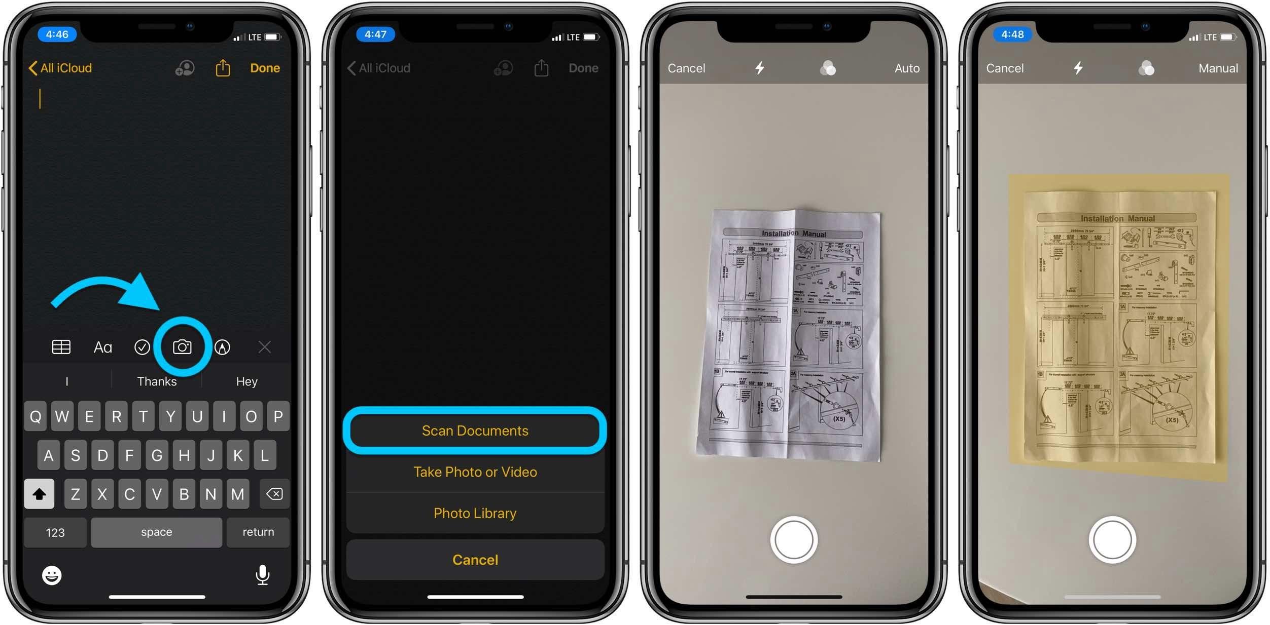 "<span href=""https://9to5mac.com/2020/03/31/ios-11-how-to-scan-documents-notes-app/"">iOS: Cómo escanear documentos con la aplicación de Notas</a>"