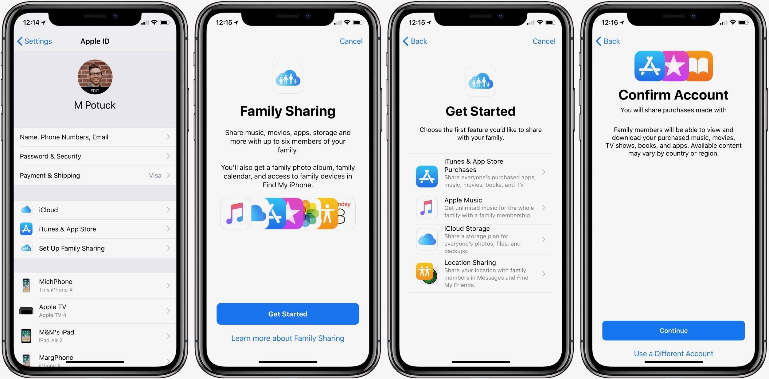 """<span href=""""https://9to5mac.com/2018/03/19/how-to-set-up-family-sharing-iphone-ipad/"""">Cómo configurar Familia a Compartir y crear un niño ID de Apple en el iPhone y el iPad</a>"""