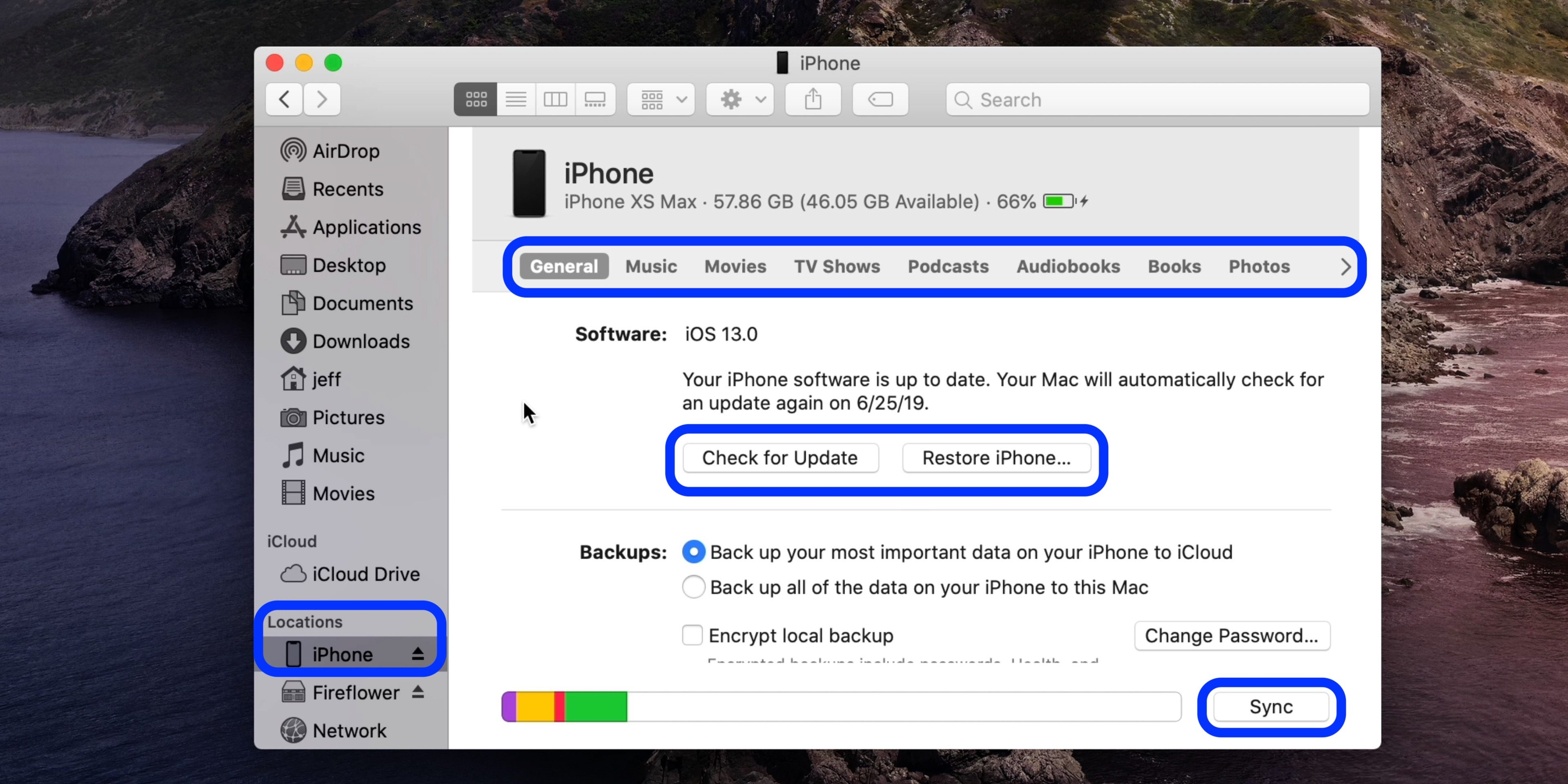 "<span href=""https://9to5mac.com/2019/10/08/how-to-sync-iphone-mac-macos-catalina-without-itunes/"">Cómo sincronizar el iPhone y el iPad a tu Mac en macOS Catalina sin iTunes</a>"