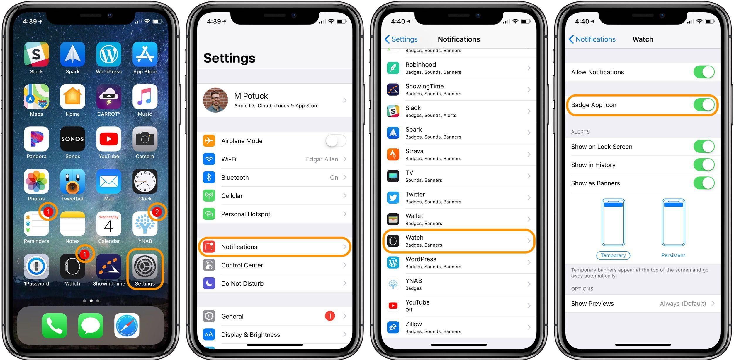 "<span href=""https://9to5mac.com/2018/04/04/how-to-turn-off-app-notification-badges-iphone/"">Cómo desactivar la aplicación de notificación notificaciones en iPhone</a>"