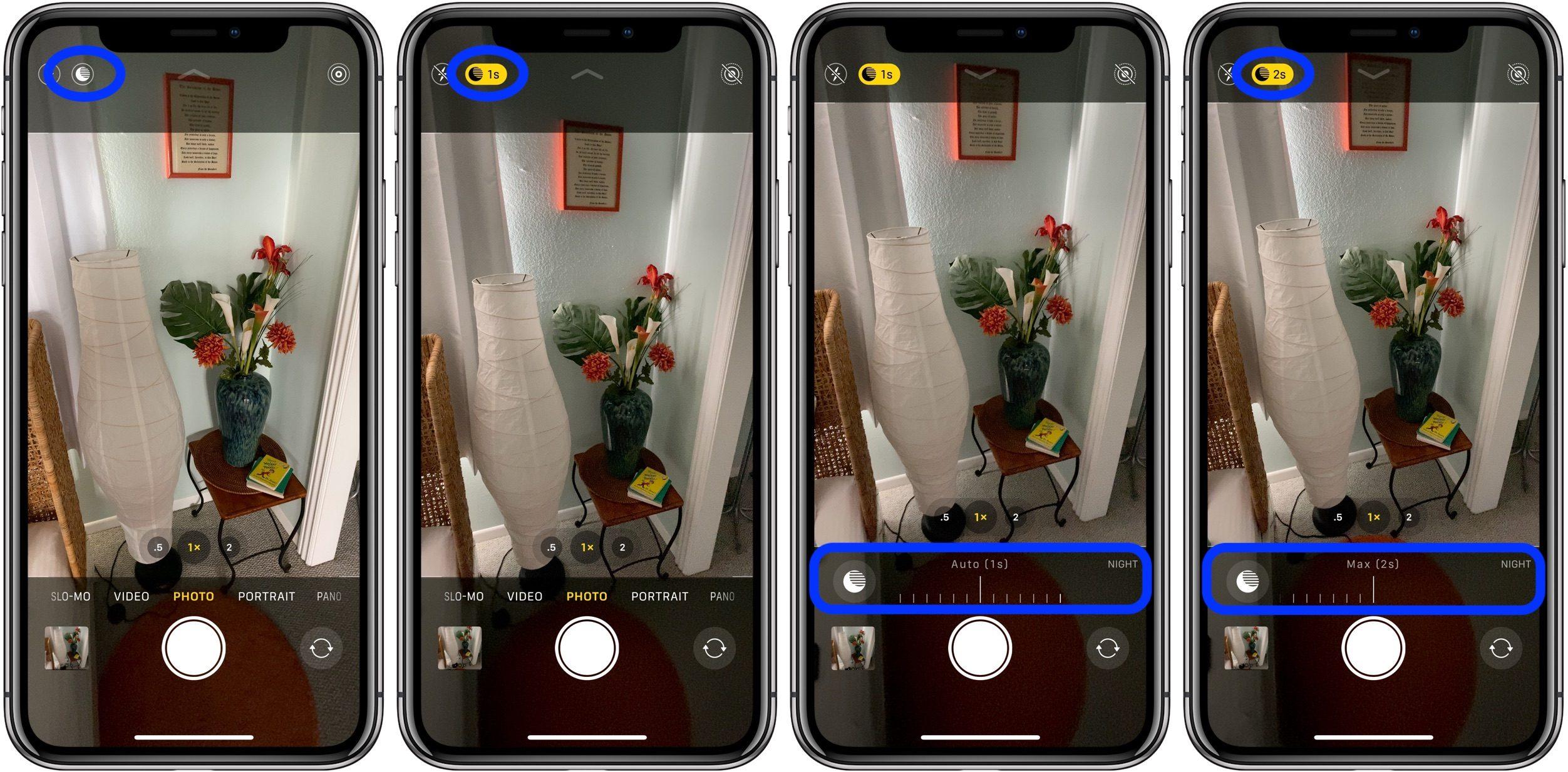 """<span href=""""https://9to5mac.com/2019/09/25/how-to-use-night-mode-iphone-11-pro/"""">Cómo utilizar el modo Noche en el iPhone el 11 y el iPhone 11 Pro</a>"""