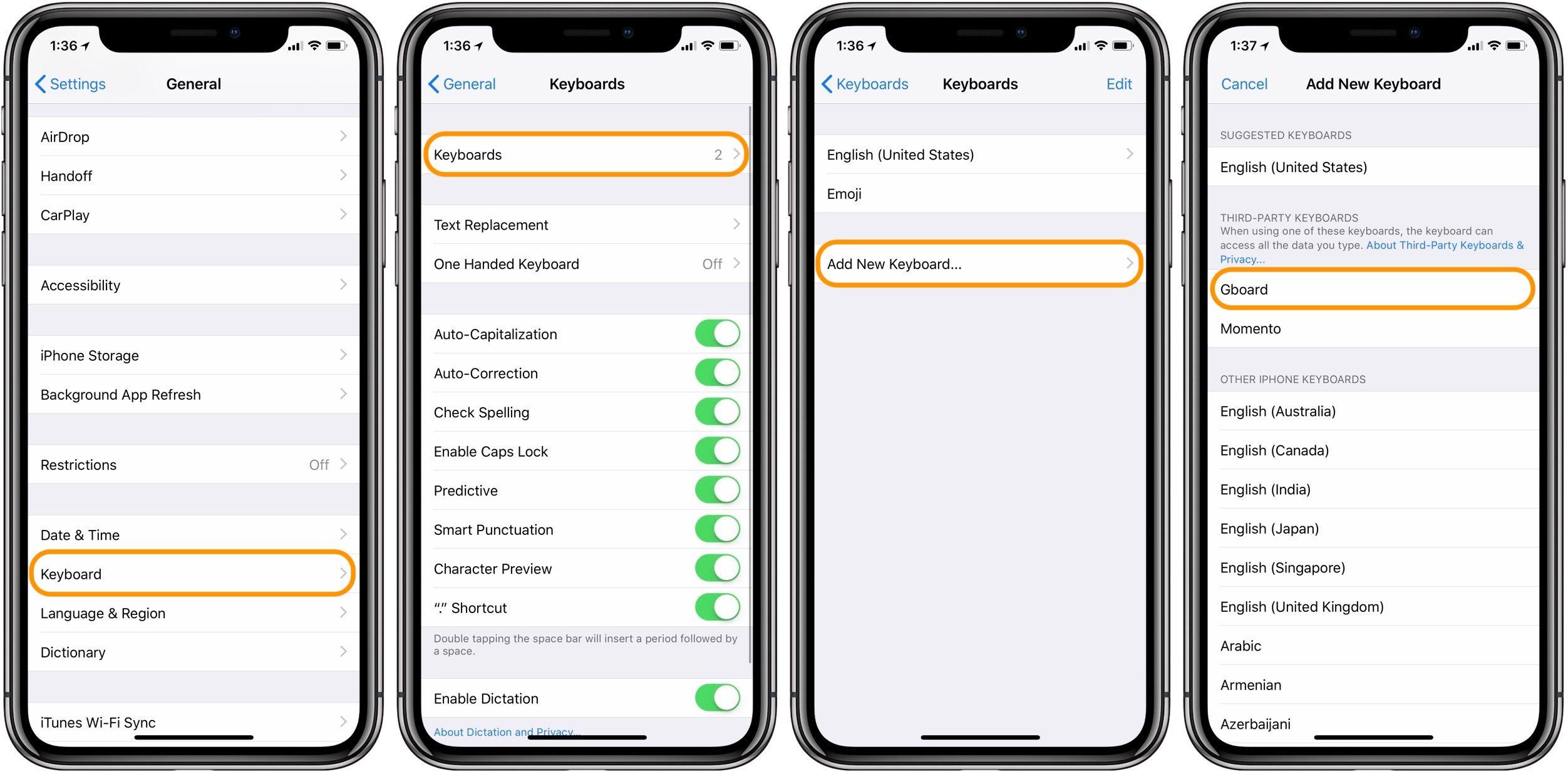 """<span href=""""https://9to5mac.com/2018/05/10/how-to-use-swipe-or-glide-typing-on-iphone/"""">Cómo el dedo o se deslizan a escribir en el iPhone</a>"""