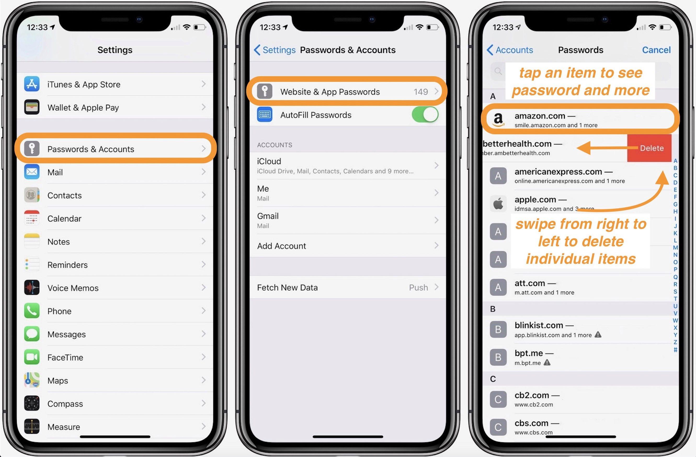 """<span href=""""https://9to5mac.com/2018/08/07/iphone-ipad-how-to-view-passwords-saved-safari/"""">iPhone & iPad: Cómo ver y editar contraseñas guardadas con Safari</a>"""