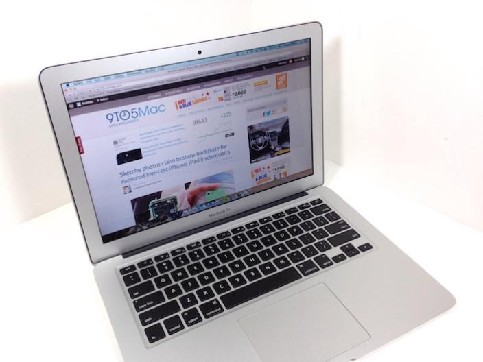 """<span href=""""https://9to5mac.com/2013/06/30/review-13-inch-macbook-air-mid-2013/"""">Reseña: de 13 pulgadas MacBook Air (mediados de 2013)</a>"""