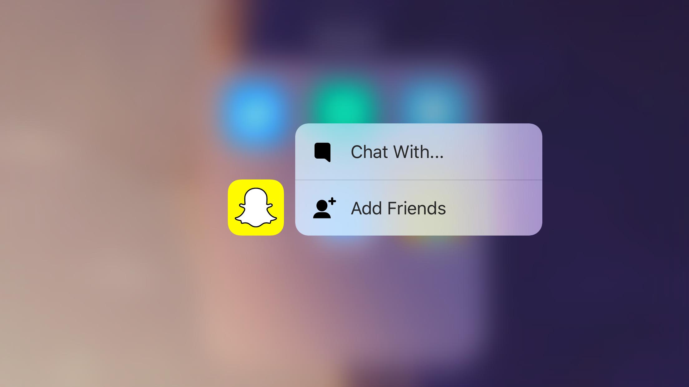 "<span href=""https://9to5mac.com/2015/10/28/snapchat-update-video-filters-slow-mo-fast-forward-rewind-3d-touch/"">Snapchat actualización agrega slow-mo, avance rápido, & rewind efectos de vídeo + 3D con soporte Táctil</a>"