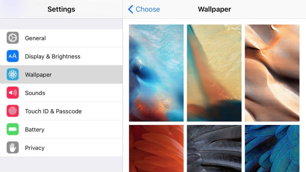 """<span href=""""https://9to5mac.com/2015/08/07/new-ios-9-iphone-wallpapers/"""">Aquí están todos los de iOS 9 de colores nuevos fondos de pantalla para tu iPhone</a>"""