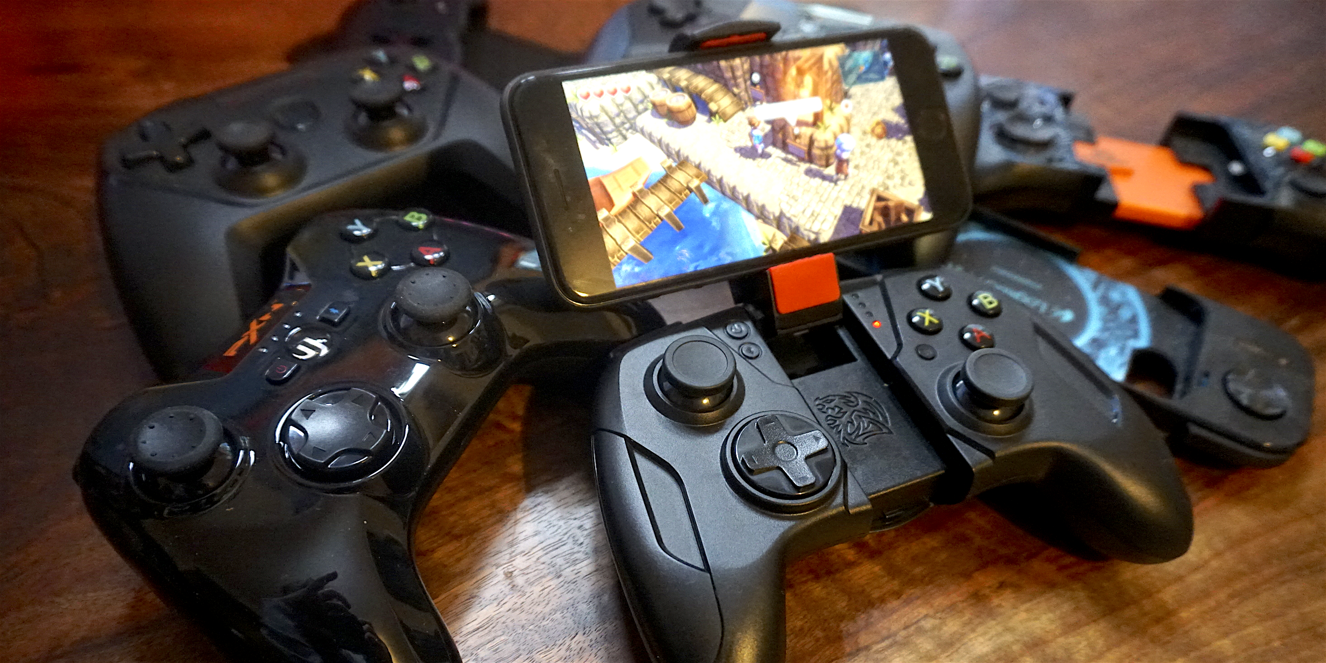 """<span href=""""https://9to5mac.com/2016/12/22/best-made-for-iphone-ipad-apple-tv-game-controllers/"""">El mejor-para-iPhone, iPad & Apple TV controladores de juegos</a>"""