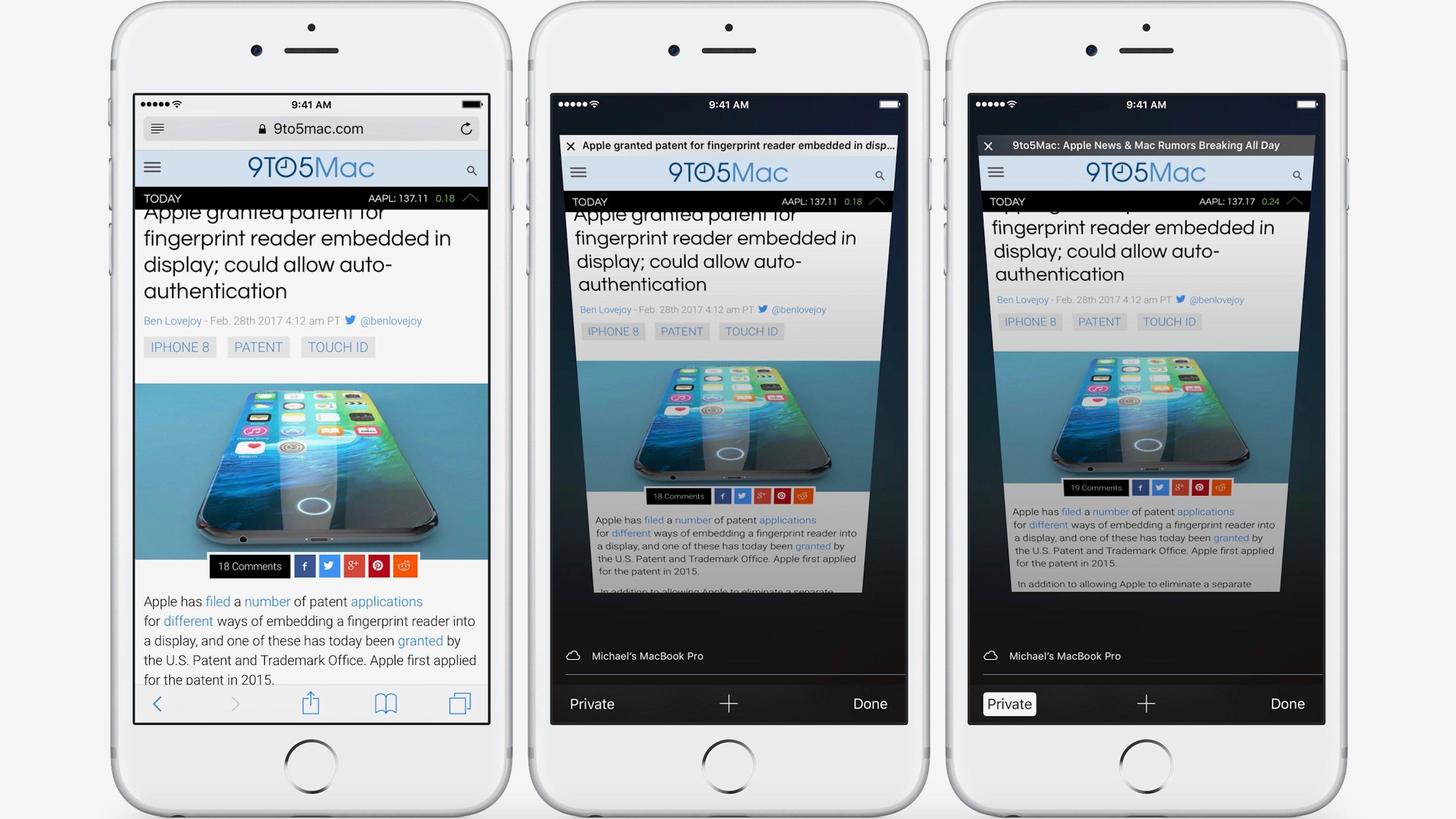 """<span href=""""https://9to5mac.com/2017/02/28/how-to-use-private-browsing-iphone-ipad/"""">Cómo utilizar la Navegación Privada con Safari en el iPhone y el iPad</a>"""