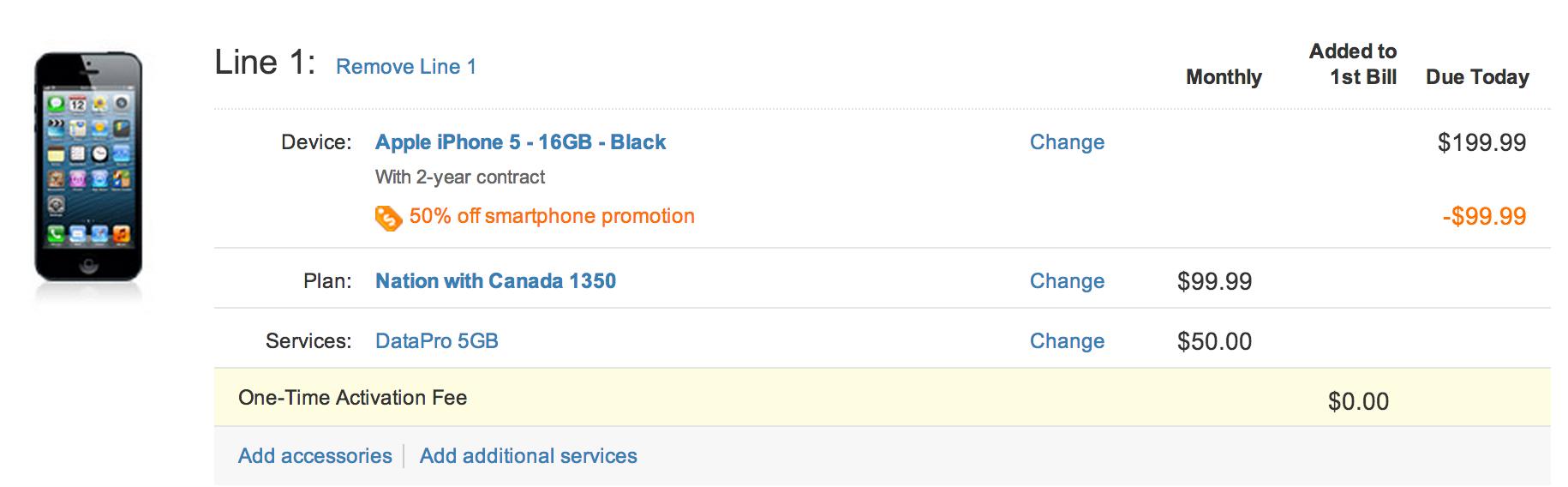 """<span href=""""https://9to5mac.com/2013/06/22/att-cuts-iphone-5-price-to-99-99-as-part-of-50-off-smartphone-promotion/"""">AT&T recortes iPhone 5 precio de 99,99 dólares ($75 reacondicionados) como parte de un 50% de descuento en smartphone promoción</a>"""