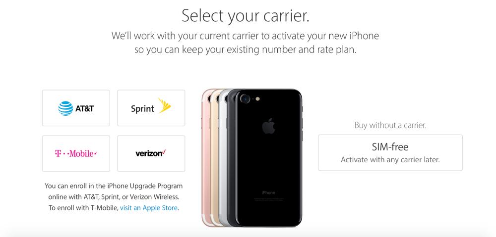 """<span href=""""https://9to5mac.com/2016/10/13/sim-free-iphone-7-and-iphone-7-plus/"""">Apple comienza a vender desbloqueado, SIM-libre del iPhone 7 & iPhone 7 Plus en los estados UNIDOS</a>"""