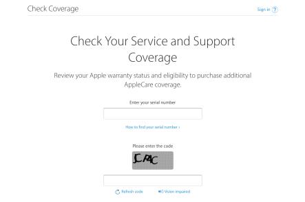 """<span href=""""https://9to5mac.com/2018/02/27/apple-iphone-warranty-check/"""">Cómo comprobar tu iPhone garantía & reparación de cobertura</a>"""